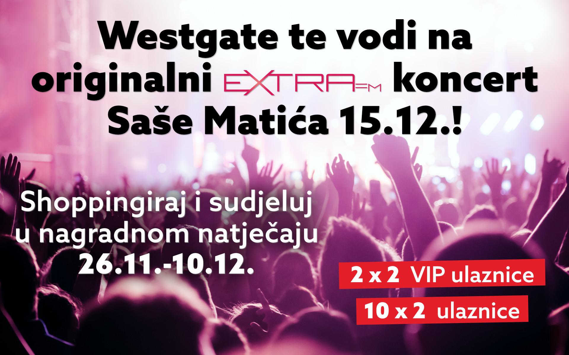 Osvoji VIP ulaznice za koncert godine!