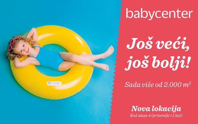 Baby Center otvorio vrata najveće trgovine!