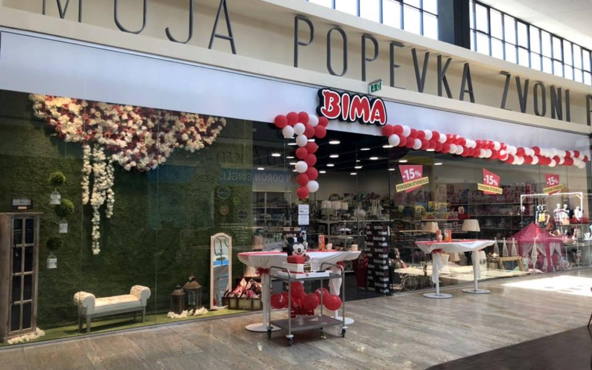 Otvorena je nova trgovina - BIMA!