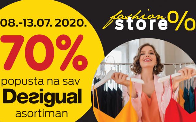Do 70% u Fashion Storeu