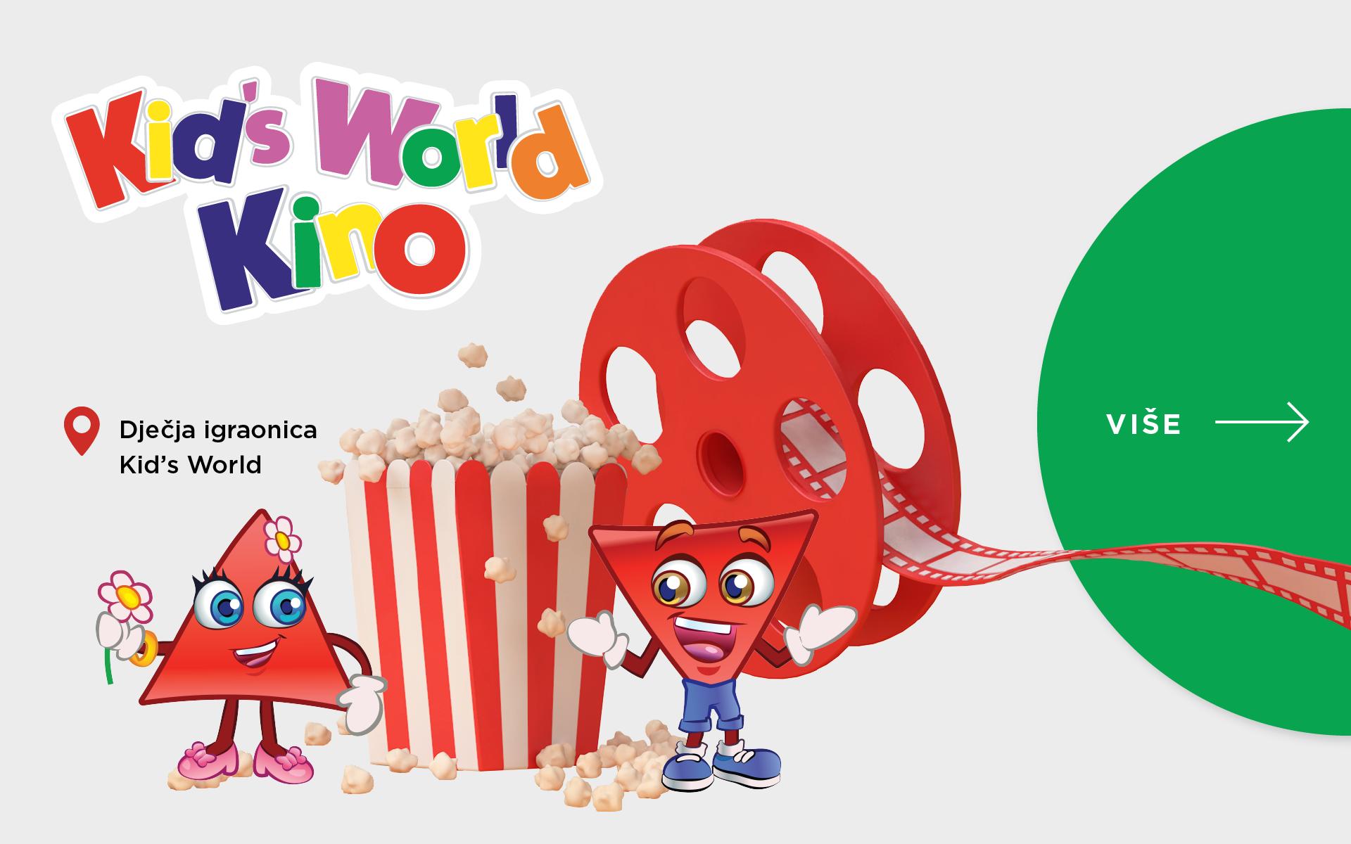 Nove projekcije u prvom dječjem kinu!