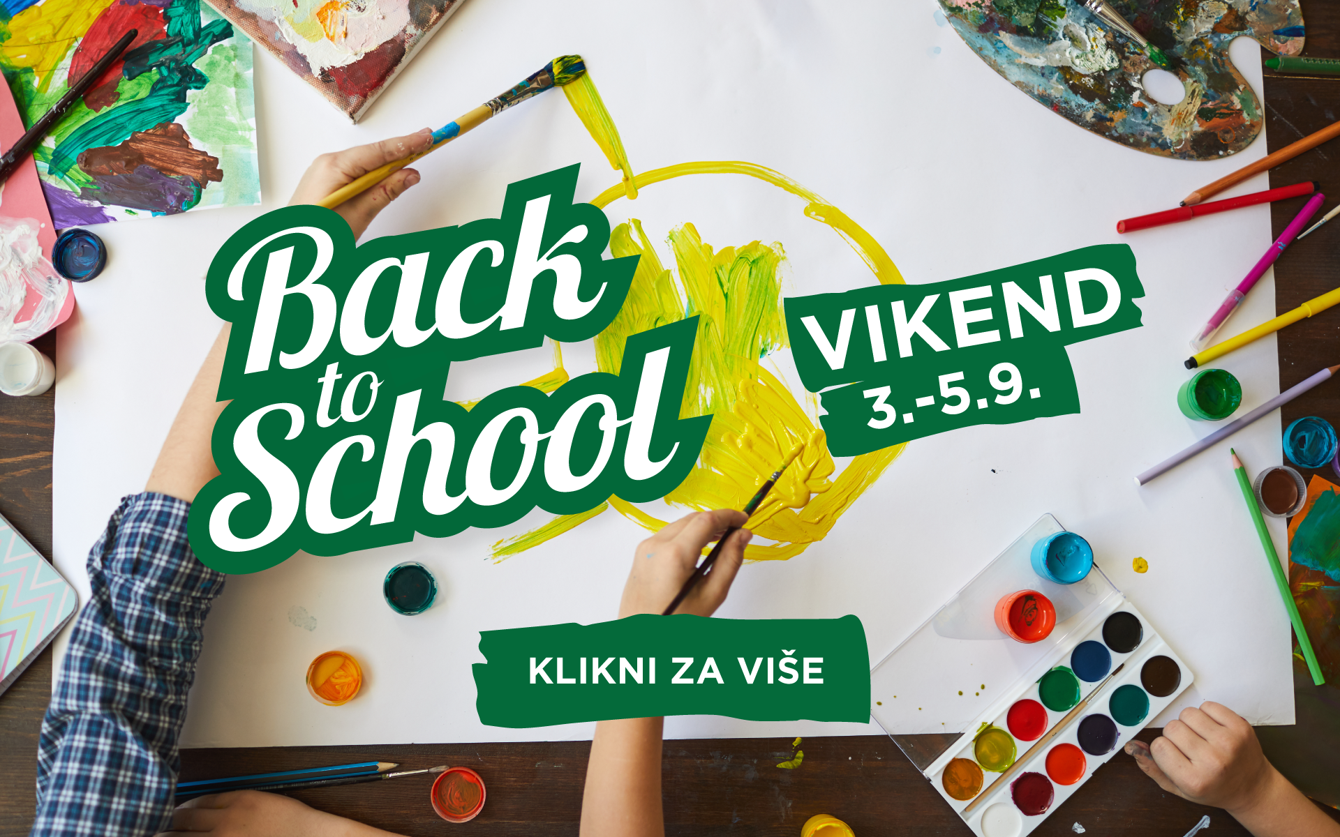 BACK TO SCHOOL VIKEND 3.-5.9.