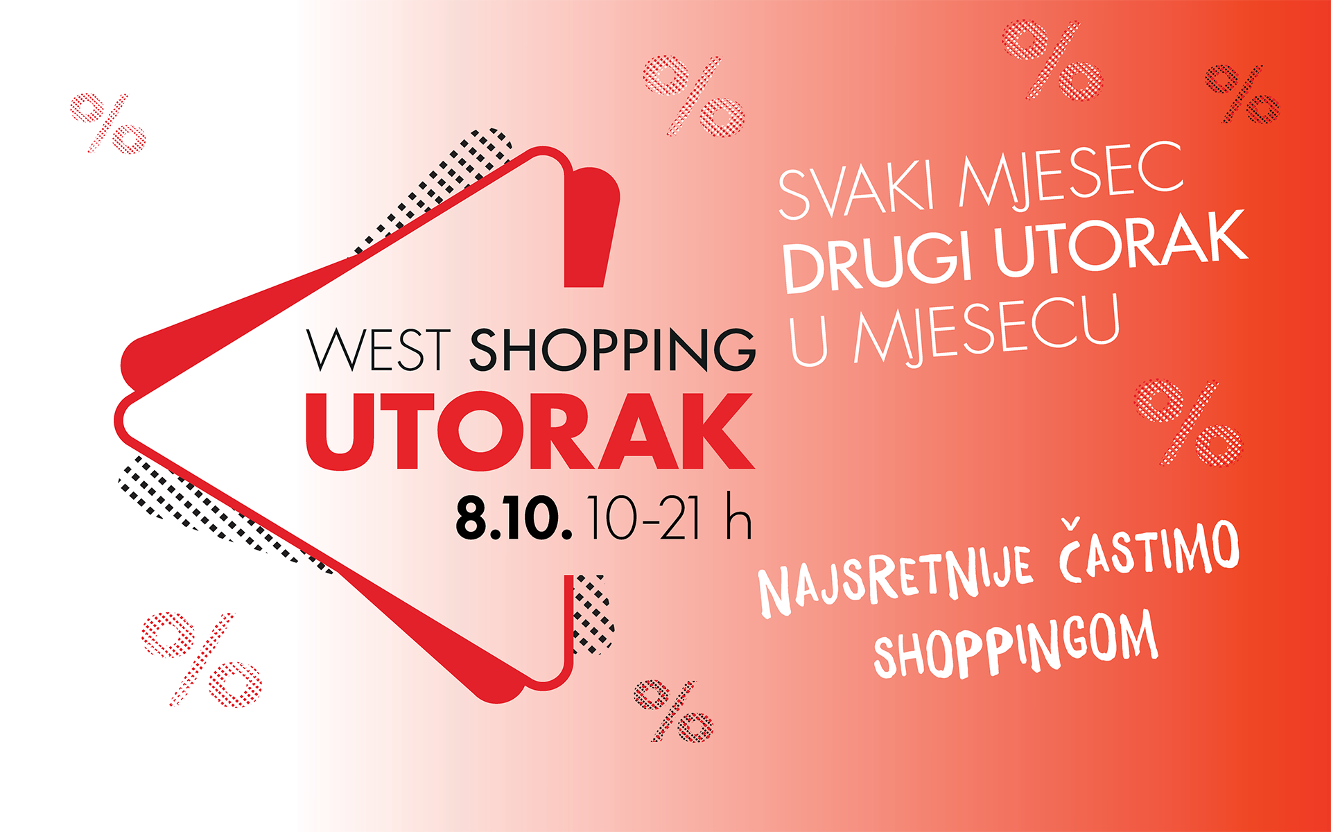 West Shopping Utorak 8.10.2019