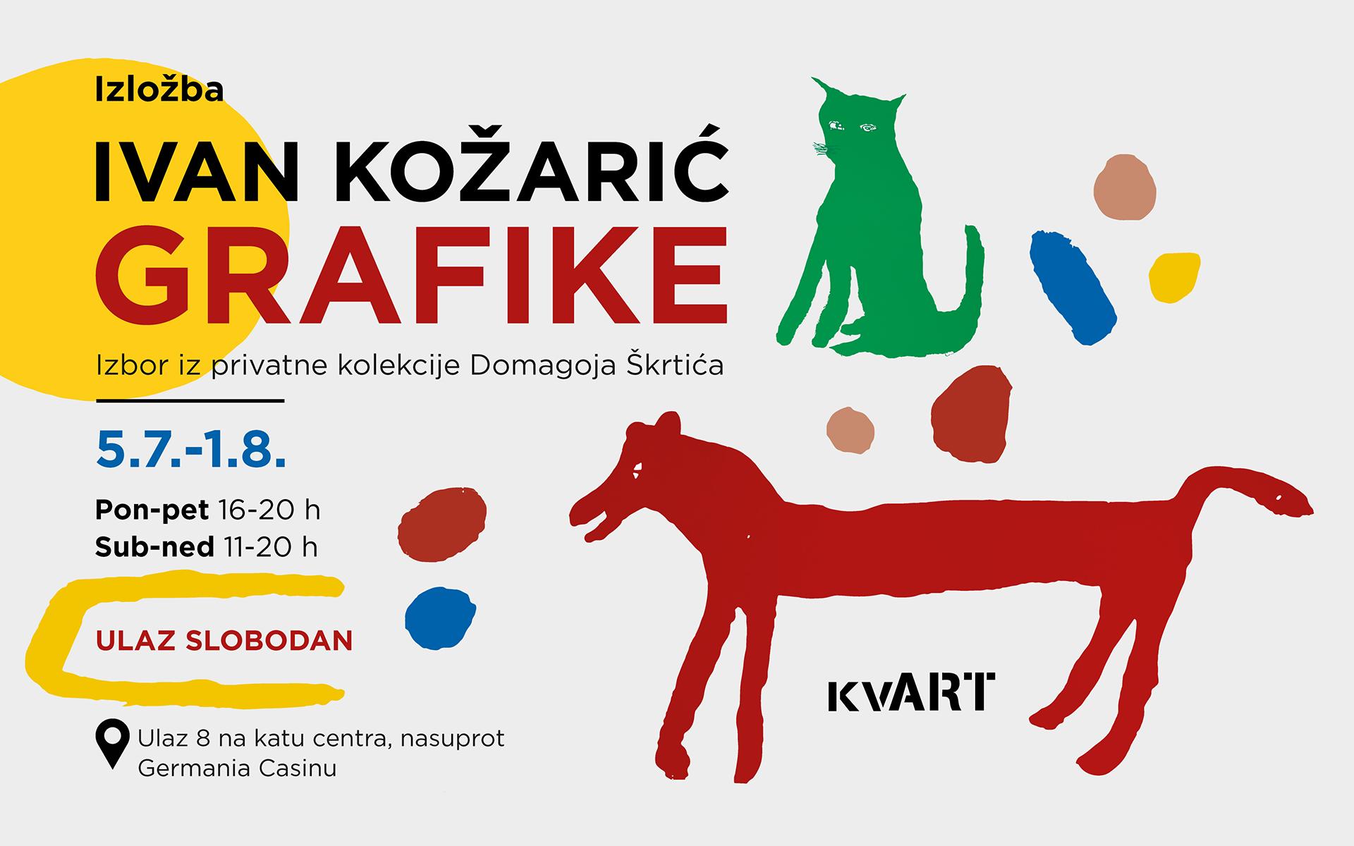 kvART: Kreće izložba Ivana Kožarića