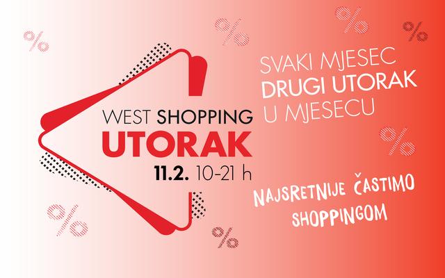 West Shopping utorak - 11.2.2020. EN