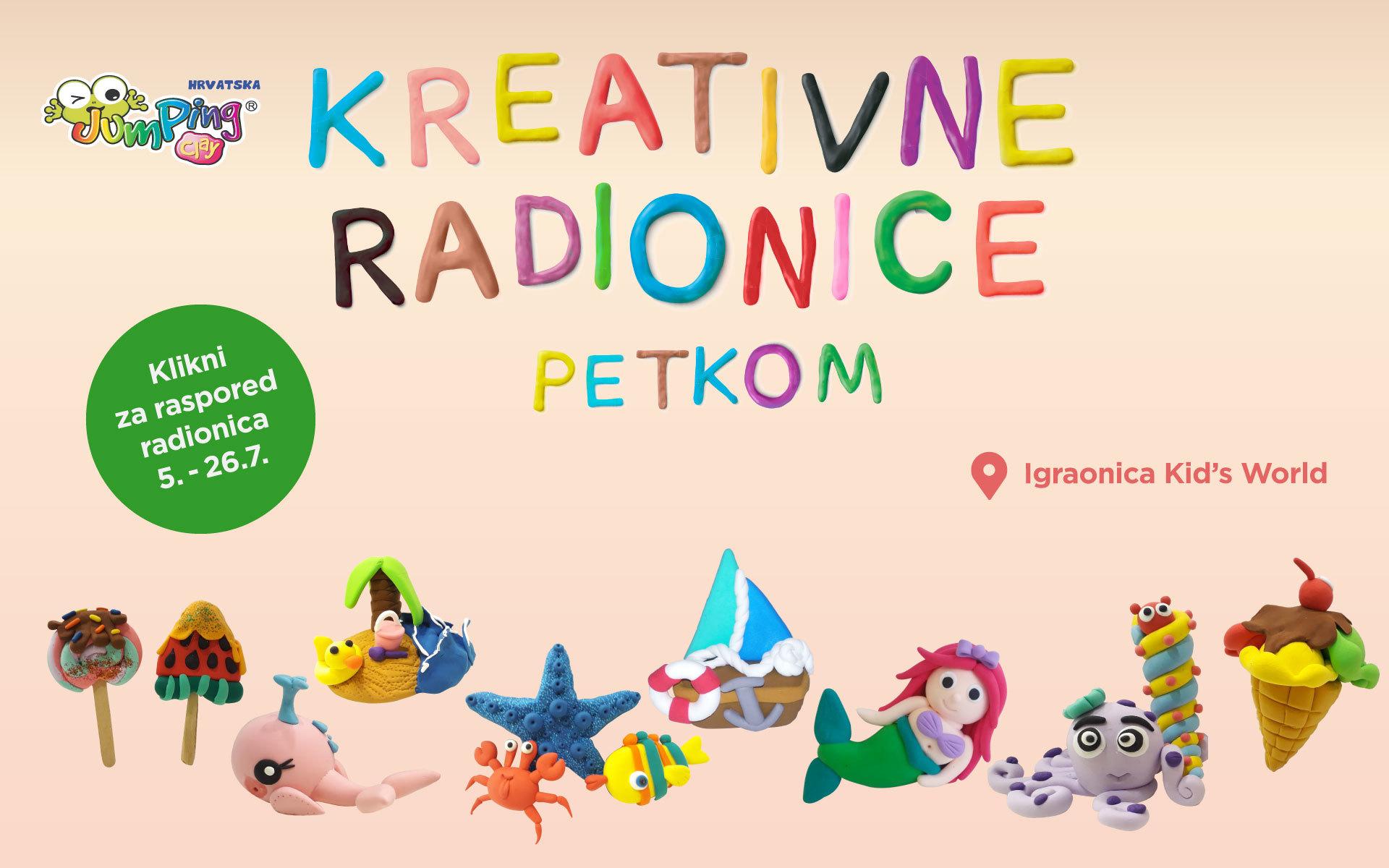 Kreativne radionice u srpnju!