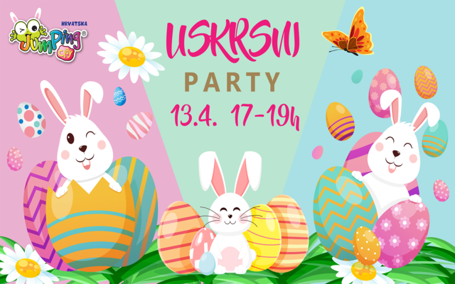 JumpingClay uskrsni party