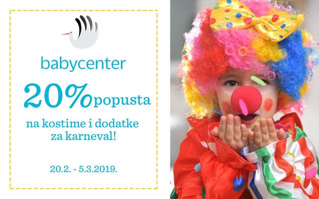 20% popusta u Baby Centru!