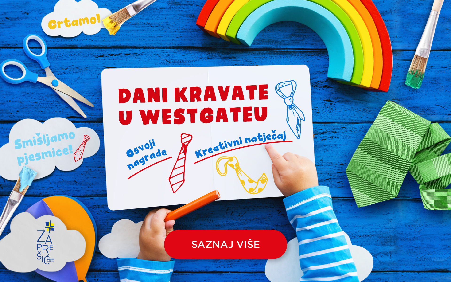 "Likovno – literarni natječaj ""PRIČA MOJE KRAVATE"""