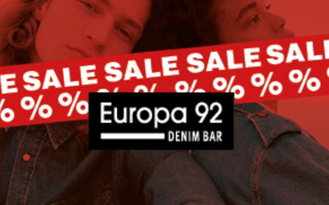 Europa 92 - Sezonsko sniženje do -30%!