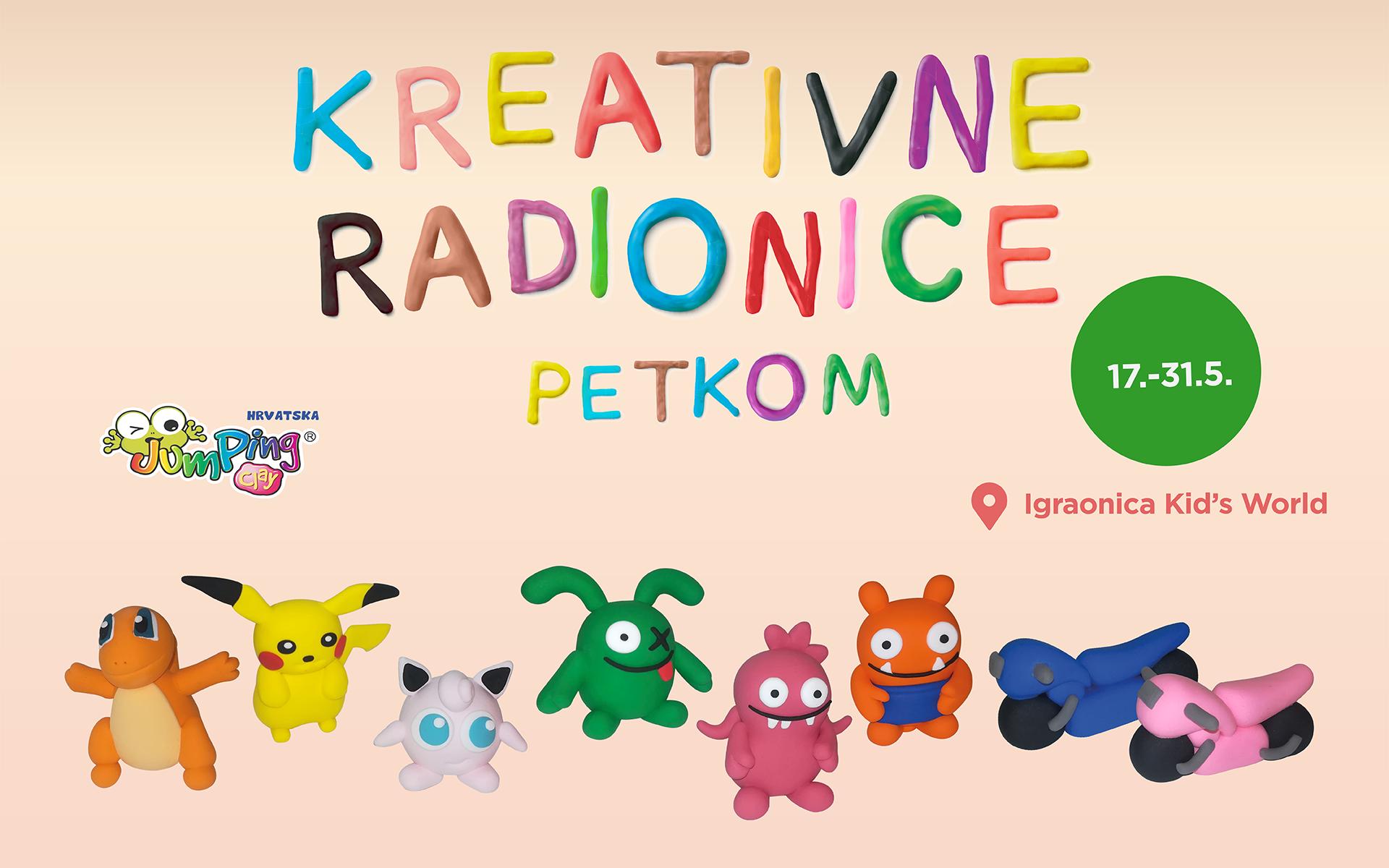 Kreativne radionice u svibnju!