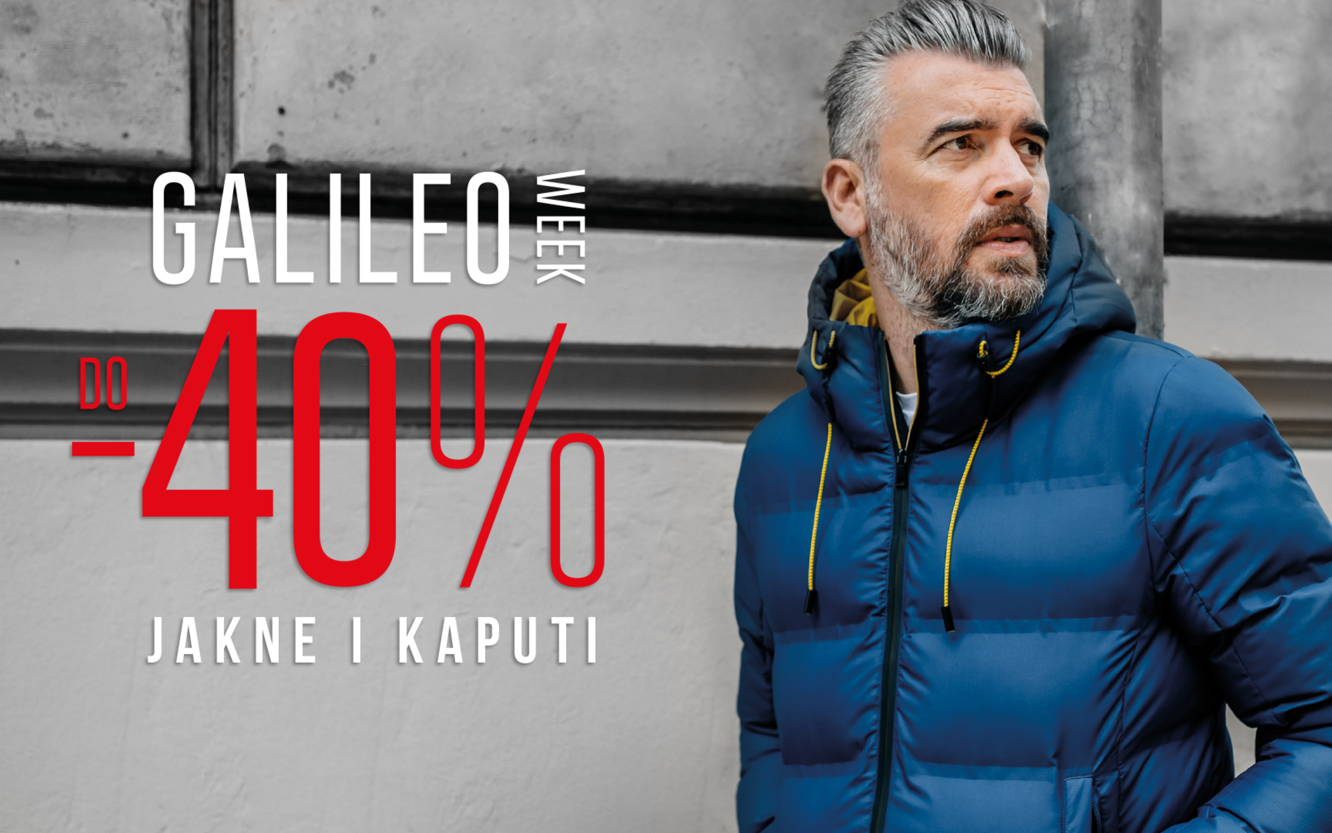 Galileo week do -40% na jakne i kapute!
