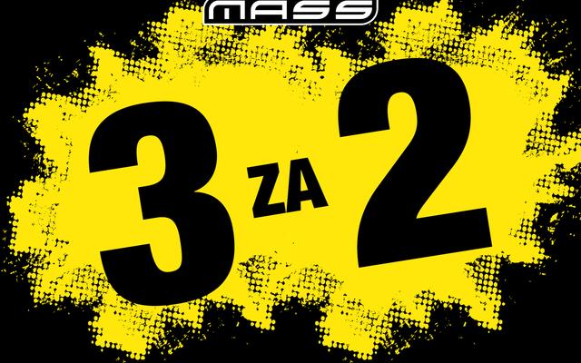 3 za 2 u MASS trgovini