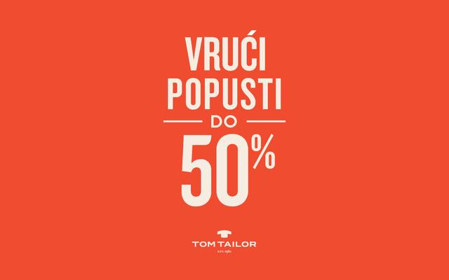 Tom Tailor - Popusti do -50%