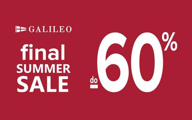 GALILEO FINAL SUMMER SALE do -60%!